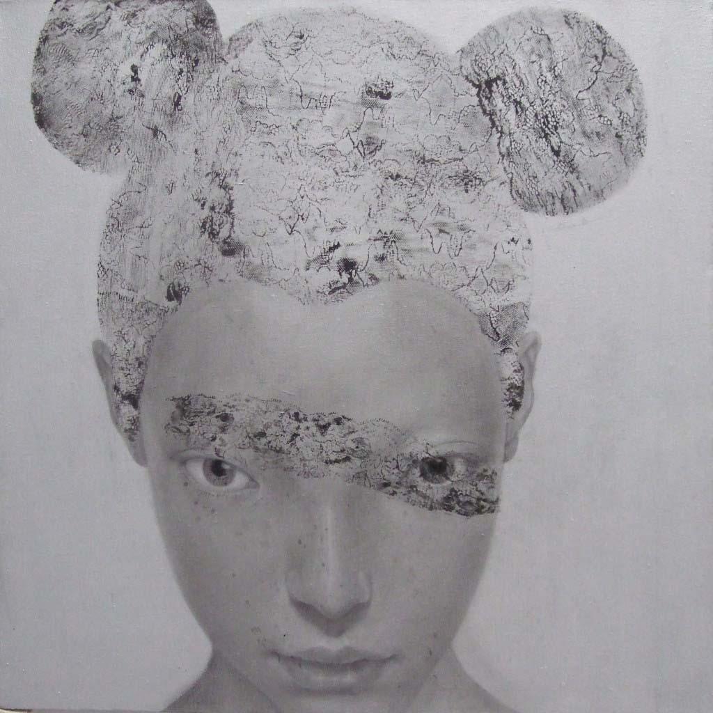 Ray of Light No.9 I Wang Min I Acrylic on canvas I 60×60cm